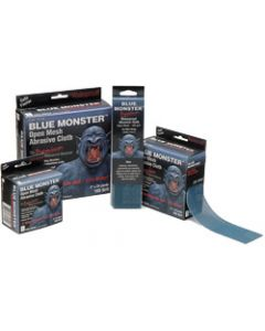 Blue Monster, Abrasive Strip, Cloth, 150 Grit, 2 inch x 8 inch