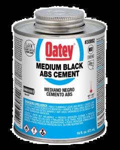 Oatey, 16 ounce, Black, ABS Cement