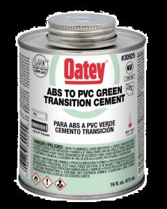 Oatey, 16 ounce, Green, PVC Cement