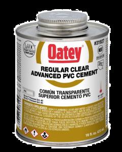 Oatey, 16 ounce, Clear, PVC Cement