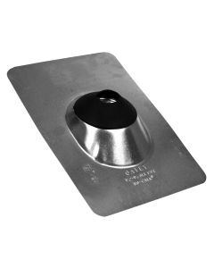 Oatey No-Calk, Roof Flashing, Pipe, 1-1/4 to 1-1/2 inch, Galvanized Steel